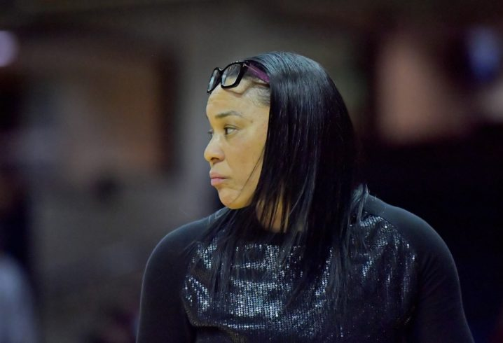 SC coach Dawn Staley suing Missouri AD Jim Sterk