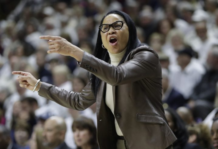 South Carolina's Dawn Staley files defamation lawsuit against Missouri AD Jim Sterk