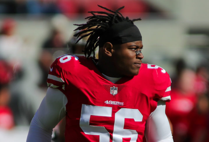 49ers LB Reuben Foster arrested for second time in a month