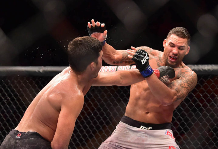 Eryk Anders' UFC middleweight fight ends in split decision