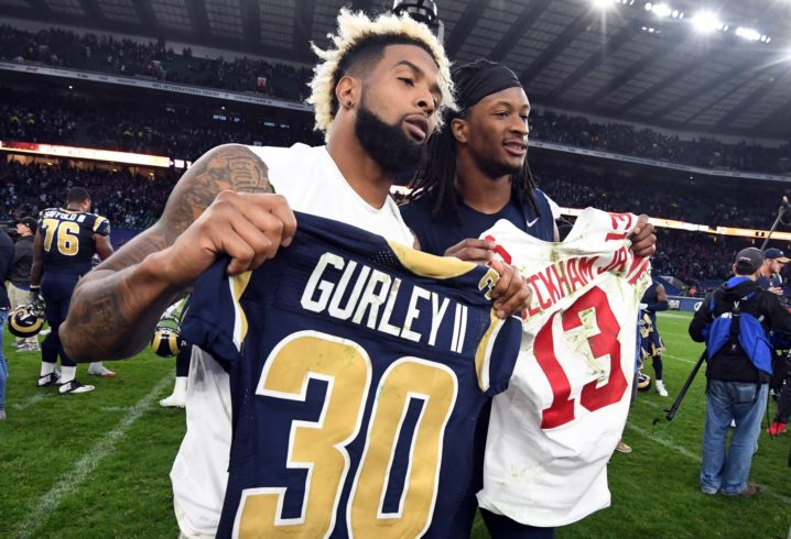 Todd Gurley: Rams would be happy to add Odell Beckham Jr