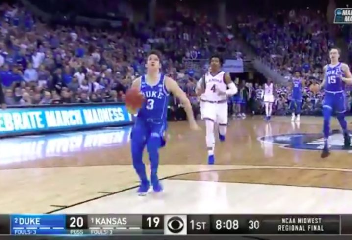 NCAA men's tournament: Kansas vs. Clemson