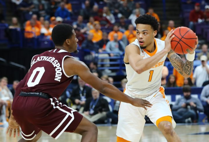 History of United Kingdom  and Tennessee in the SEC title game