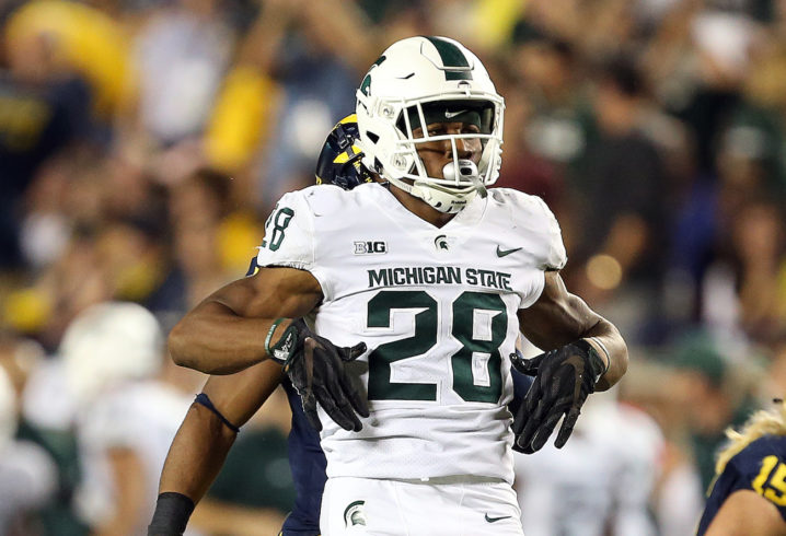 Tennessee lands commitment from Michigan State graduate transfer RB Madre London