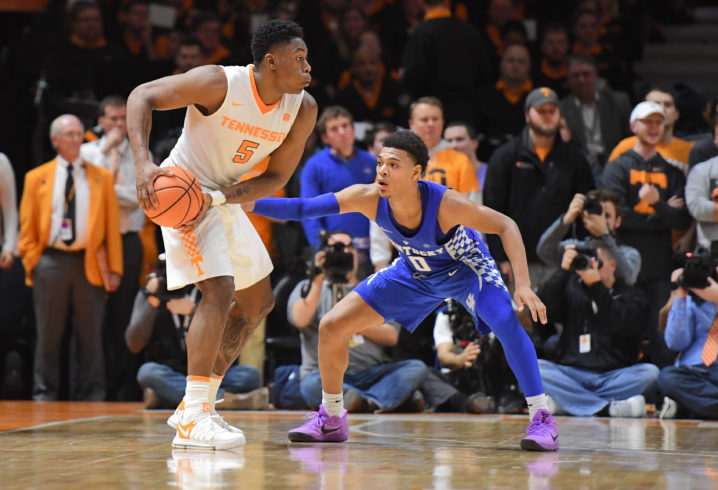 UK Leads Tennessee at the Half 36-31