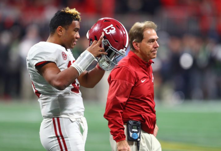 Alabama QB Tua Tagovailoa returns for 2nd Spring practice