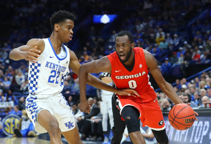 College Basketball: Gabriel nets 12 as Kentucky wins SEC