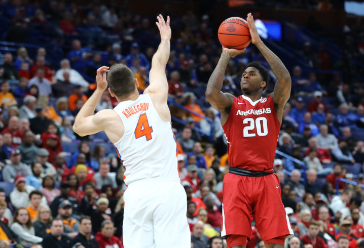 Florida knocked out of SEC tournament by Arkansas