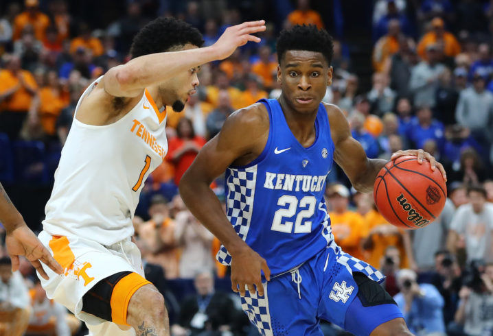 Kentucky G Gilgeous-Alexander declares for National Basketball Association draft