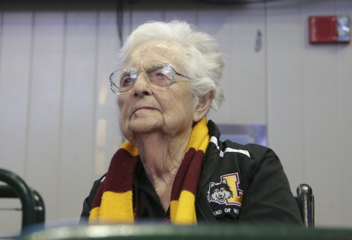 Loyola's Sister Jean offers hilarious quote about newfound fame