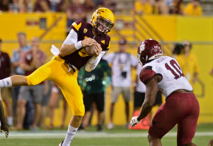 Former Alabama QB Blake Barnett transferring from Arizona State