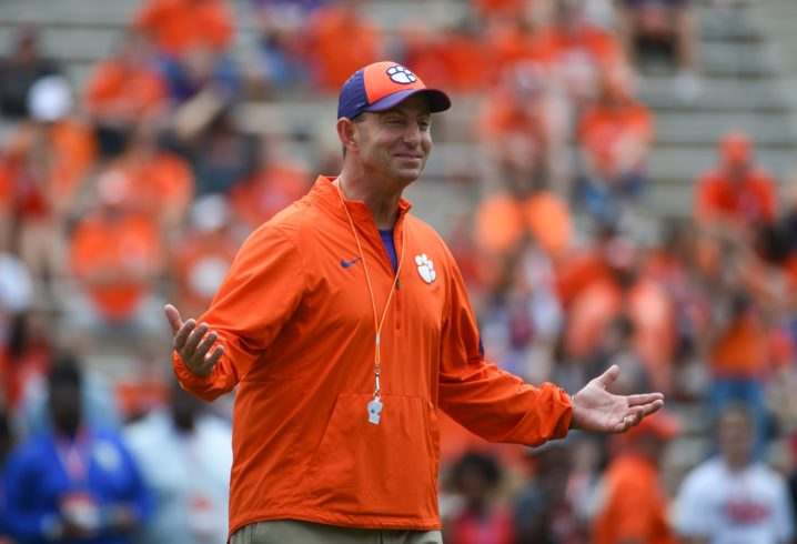 Dabo Swinney would 'absolutely' like Clemson to face Georgia every year