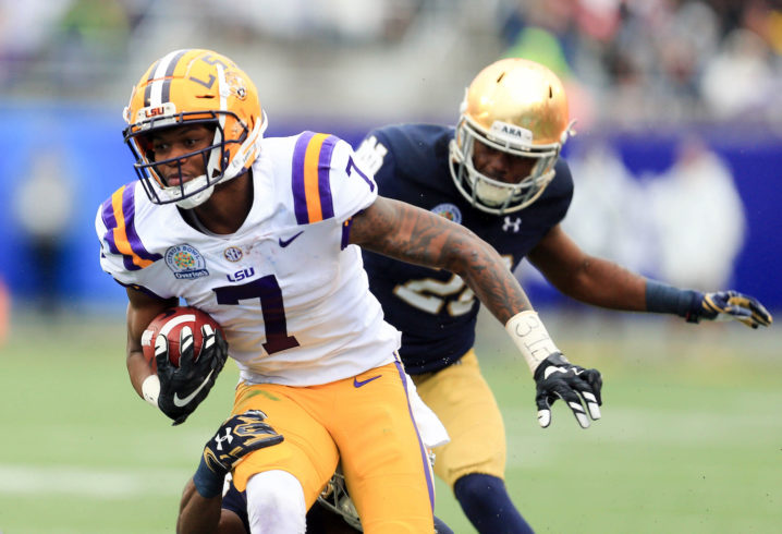 LSU WR DJ Chark drafted by the Jacksonville Jaguars