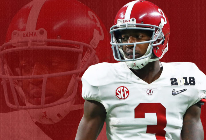 Calvin Ridley joins Alabama's parade of first-round picks in NFL Draft