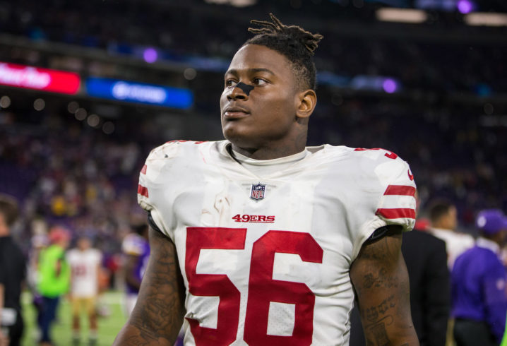 Richard Sherman shows support for Reuben Foster during DV case