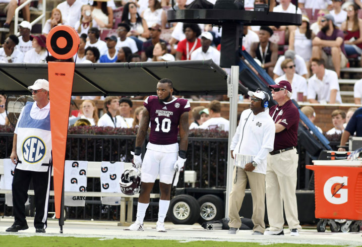 Mississippi State linebacker Leo Lewis arrested in Starkville, reports say