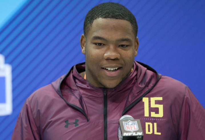 Washington Redskins DT Da'Ron Payne becomes initial first-rounder to sign