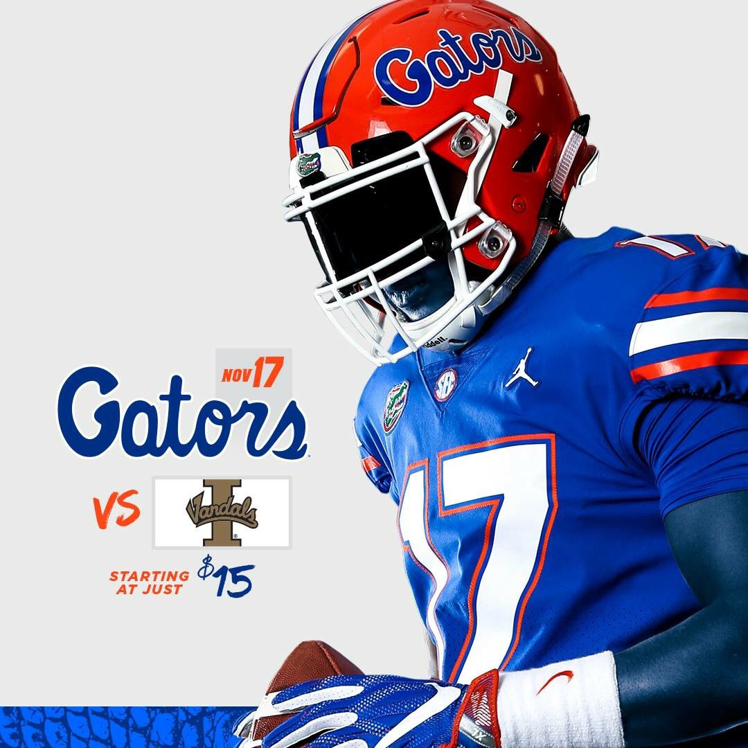 411dade94ea0d2 Here are the images we found advertising Florida s home games for the  coming season. The only game missing from the list below is the Missouri  game set to ...