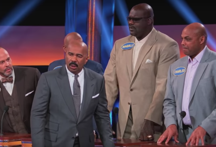 Charles Barkley stuns with odd  answer on 'Celebrity Family Feud'