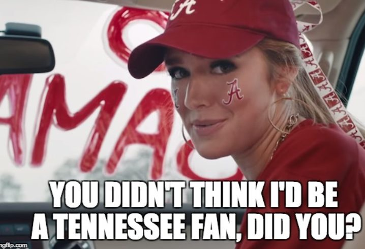 The Alabama Tennessee Memes Are Spreading And They Are