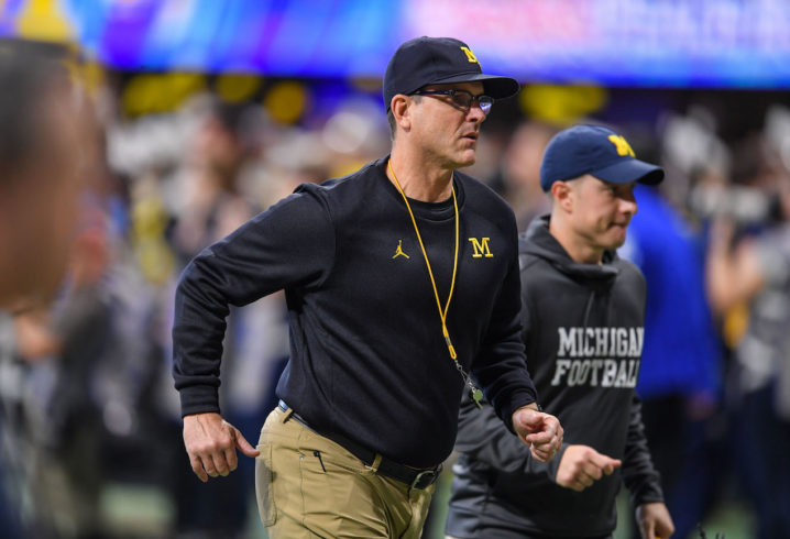 What Jim Harbaugh Said After Blowout Loss To Florida