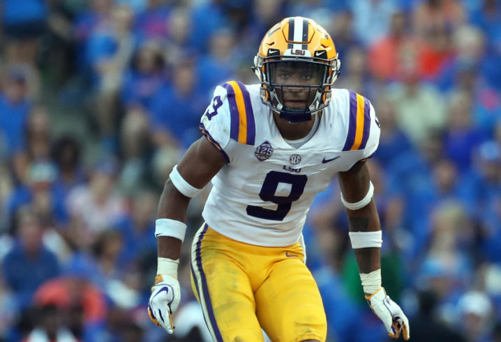 Look Lsu S Grant Delpit Calls Out Fiesta Bowl Targeting