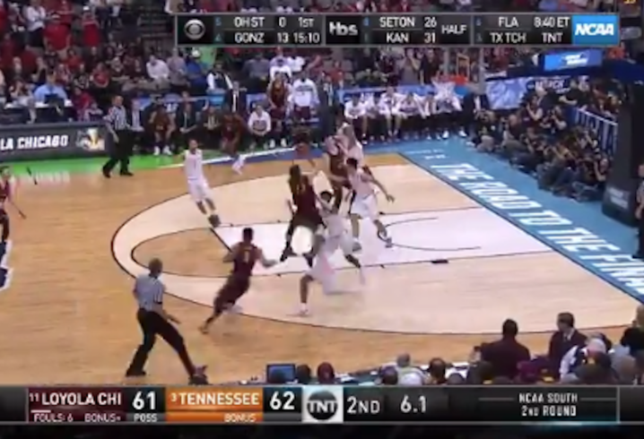 NCAA Tournament: Loyola-Chicago wins thriller over Tennessee to reach Sweet 16 class=