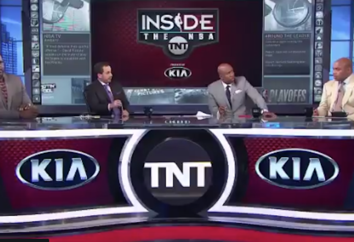 Shaq and Barkley have intense yelling match over Raptors