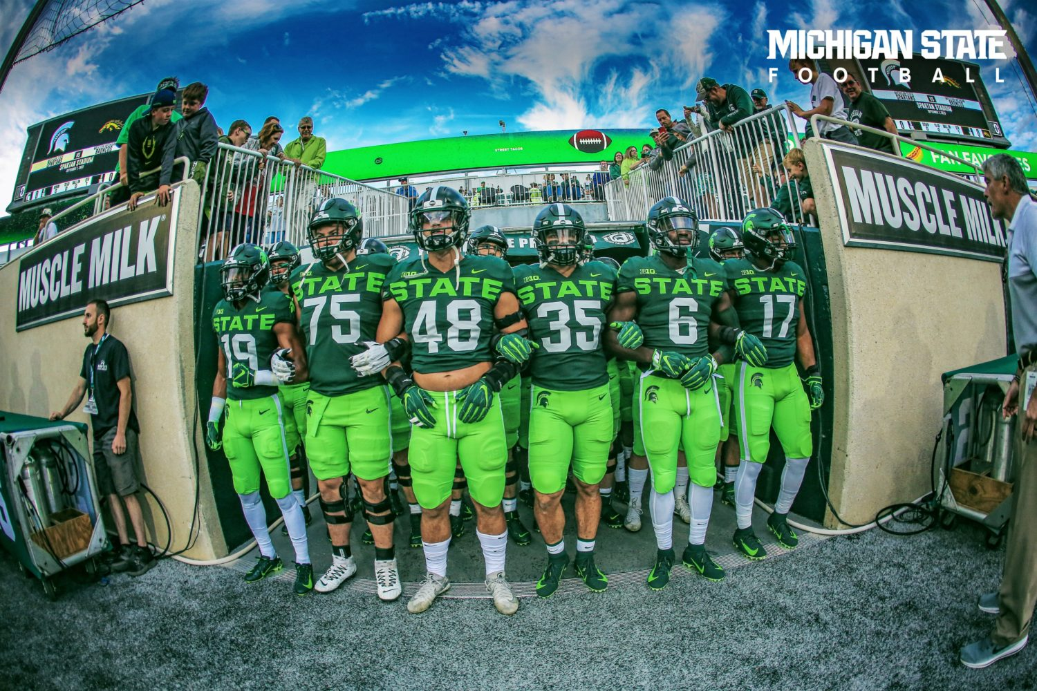LOOK: Michigan State debuting college football's ugliest ...