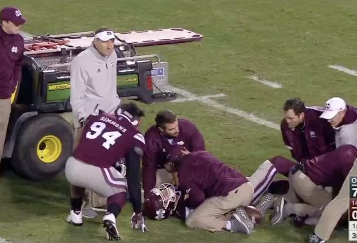 MSU quarterback undergoes surgery after Egg Bowl injury