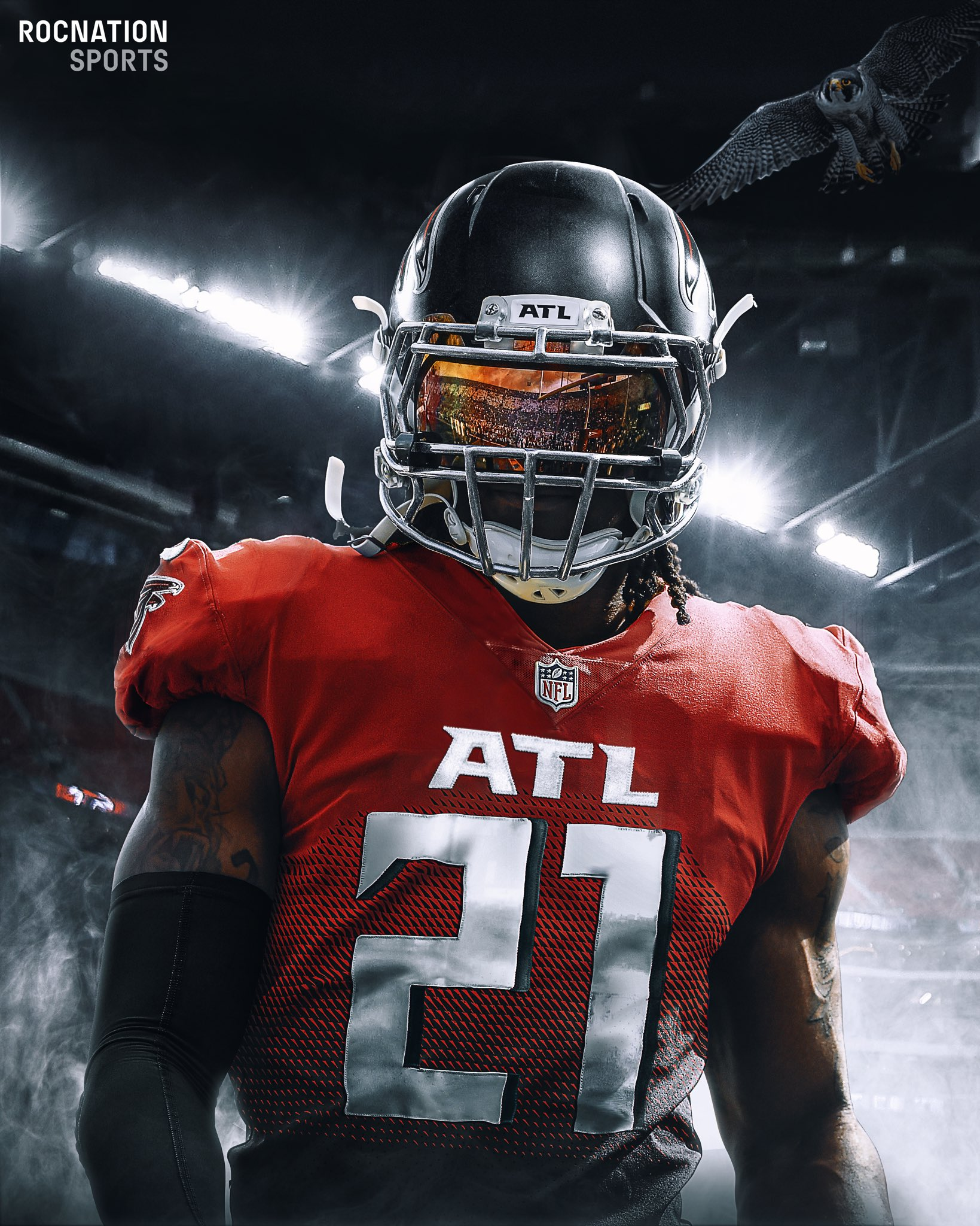 Todd Gurley Reveals New Jersey Number With Atlanta Falcons