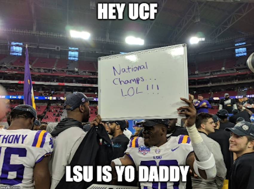 Viral Lsu Football Memes From Recent Years