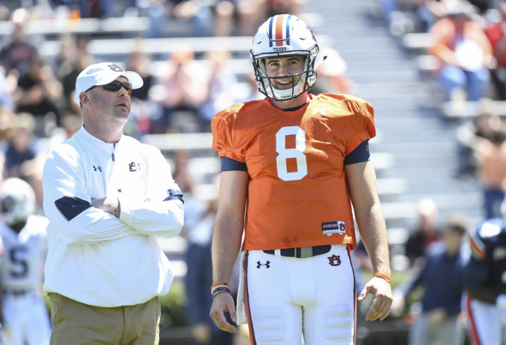 Malzahn confident in role as head coach